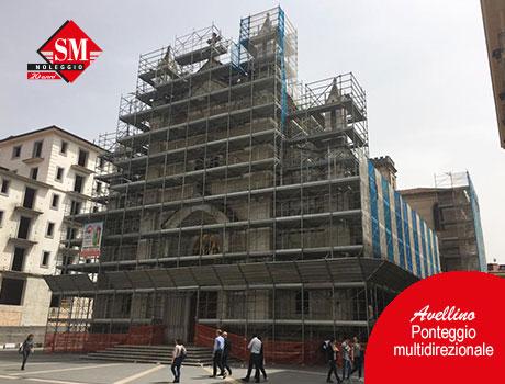 Avellino – Ponteggio multidirezionale